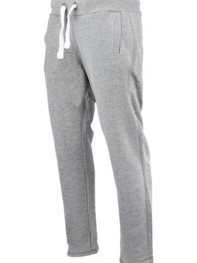 Spodnie dresowe Premium duży rozmiar jasnoszare art-7919