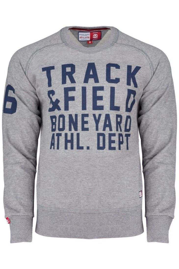 Bluza Track and Field letnia bluza męska jasnoszara art-7963