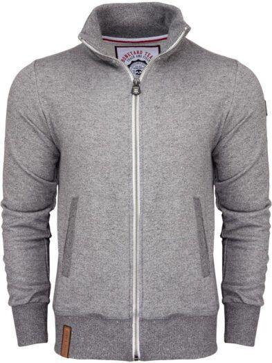 Rozpinana bluza Classic Męska jasnoszara Art-8014