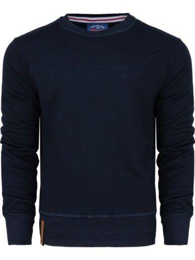 Bluza Classic duży rozmiar klasyczna bluza Boneyard granatowa art-8016