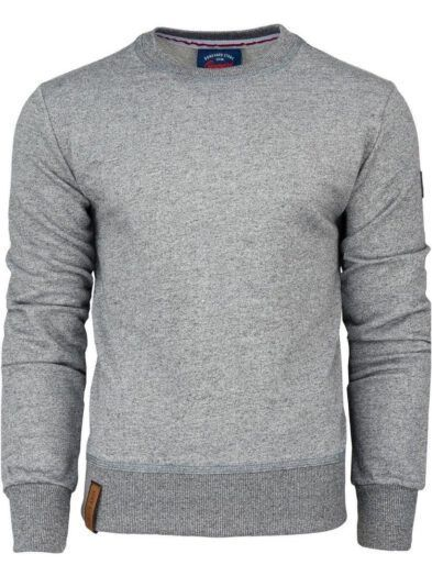 Bluza Boneyard Classic klasyczna bluza męska jasnoszara Art-8013