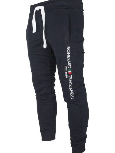 Spodnie Dresowe Ze Ściągaczem Chillout Granatowe Art-8198