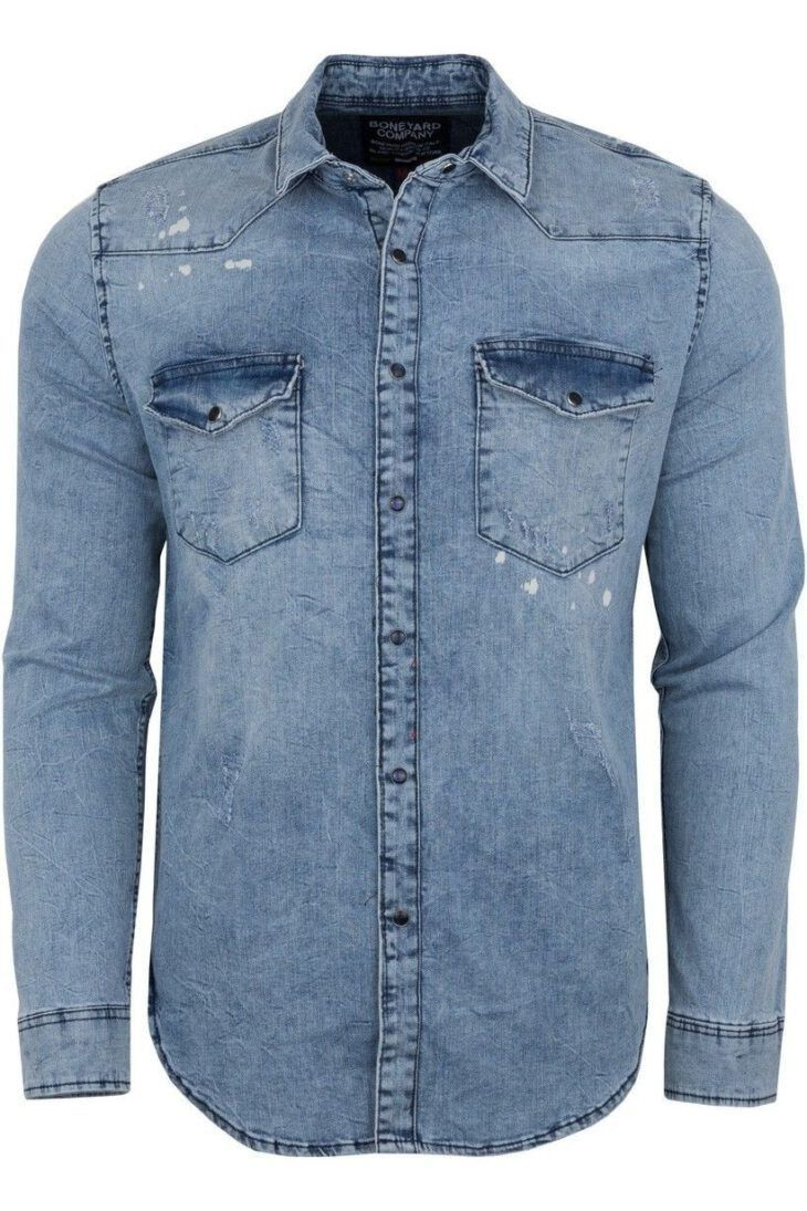 Koszula jeansowa Luizjana Męska Art-5002