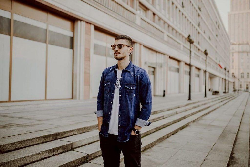 Koszula Jeans Męska BoneYard