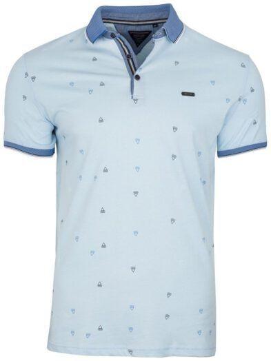 Koszulka Polo Niebieska BY6025