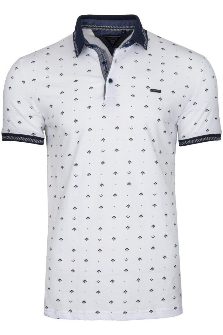 Koszulka Polo Parma Biała BY 6021